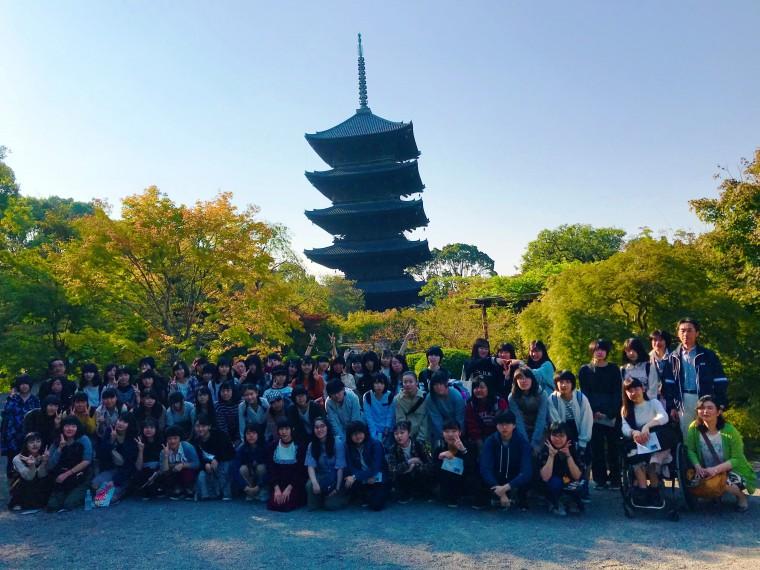 東寺前集合写真